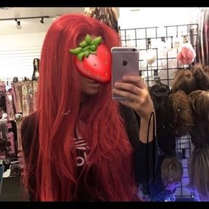 Accessories - Red Wig Long Lacefront Wig